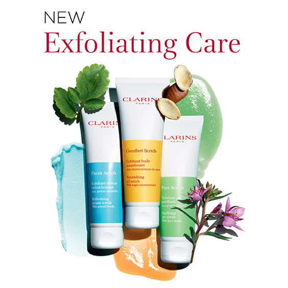 Clarins Exfoliating Care